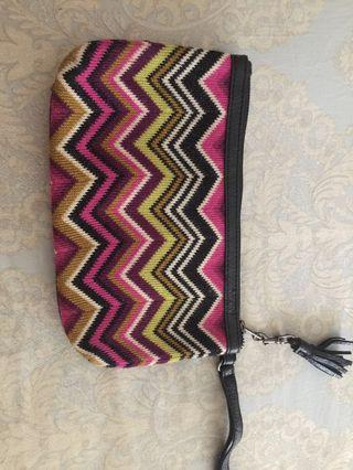 Missoni for target clutch wristlet x Zara