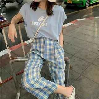 (PO) 3 Colours - Checkered Pants