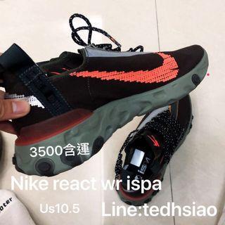 🚚 Nike react ISPA WR