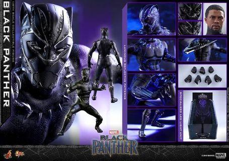 Black panther - UV - Hot toys