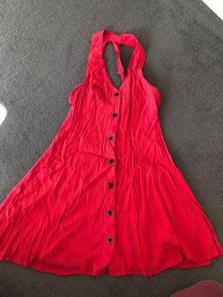 Just needs an iron - dress!