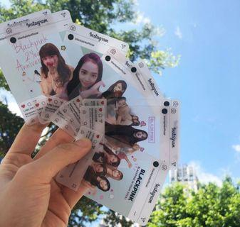 🚚 [PO] Blackpink Transparent Photocard