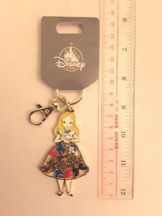 日本 迪士尼 Disney 愛麗絲夢遊仙境 Alice in the Wonderland 鎖匙扣 掛飾 全新