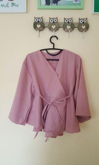 Blouse Kimono Pink