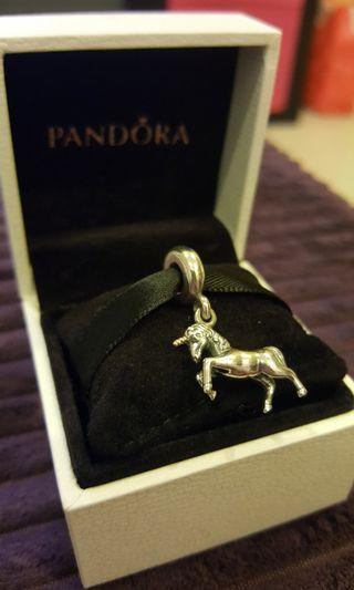 Preloved Unicorn Pendant Fairytale Charm