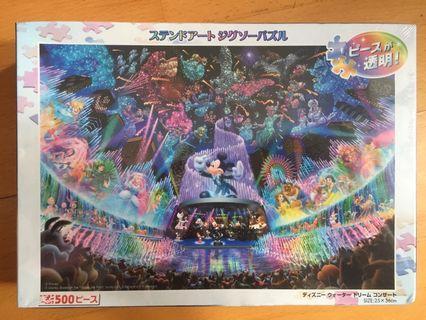 日本 迪士尼 交響曲砌圖 500 透明款