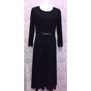 #BAPAU LongDress Black