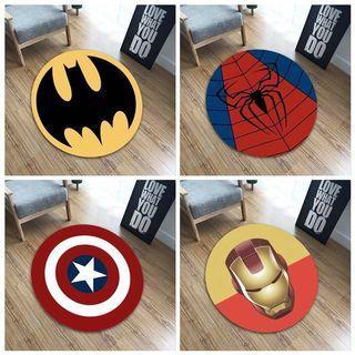 Circular Marvel Floor Mat