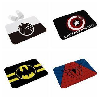 Superhero Floor Mat