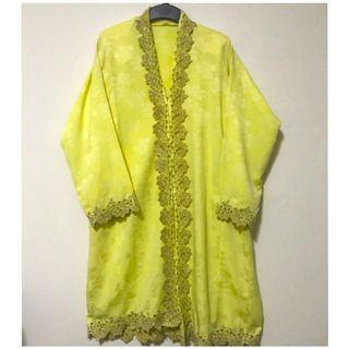 Embroidered Kebarong Sulam. Size XL. 2 piece wear. Well kept in packaging.