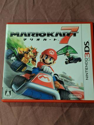 Mario Kart 7 Nintento 3DS