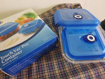 Lock System & Vacuum Lunch Box - Set of 2