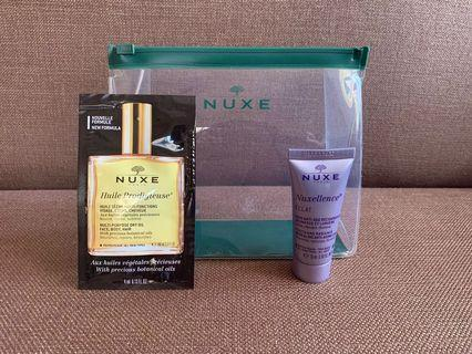Nuxe Dry Oil and Moisturizer Bundle