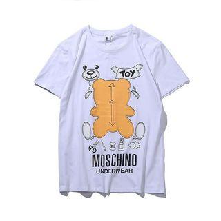 MOSCHINO OUTLET  背影熊🐻 TEE 白色