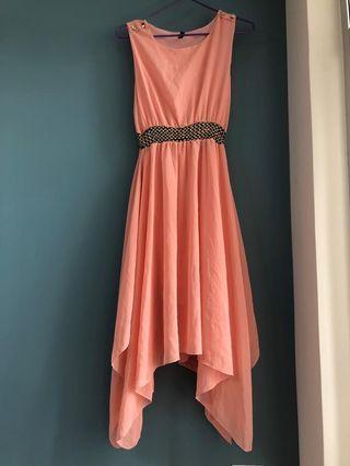 姊妹裙粉紅色