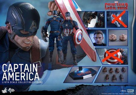 Hot Toys MMS350 Captain America Civil War (hottoys)