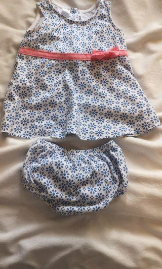 Mides girls clothes 9mth size 5pcs