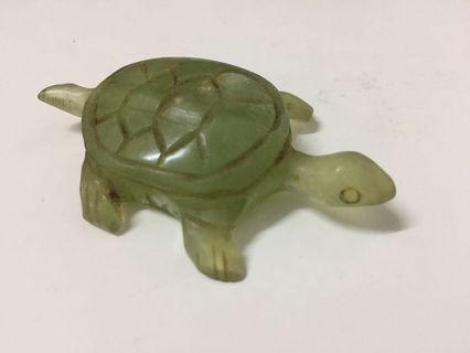 Vintage Serpentine 'jade' tortoise