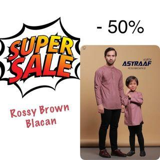 Kurta rossy brown