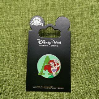 Ariel美人魚-迪士尼襟章Disney Pins