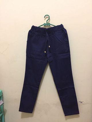 #BAPAU Navy Baggy Pants