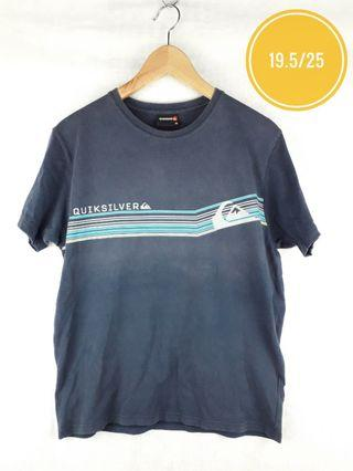 QUICKSILVER CHEST STRIPES TEE