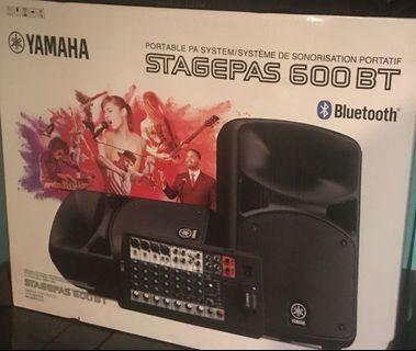 🚚 Yamaha stagepass 600I