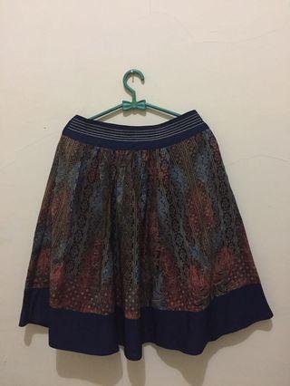 #BAPAU Batik Skirt