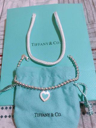 🚚 Tiffany & Co. 純銀珠珠手鍊