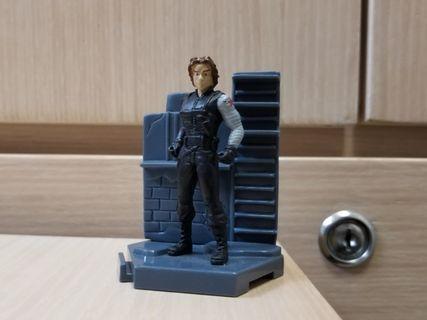 Winter Soldier 美國隊長3:英雄內戰 Captain America: Civil War 寒冬戰士 Figure 底座 公仔 Marvel