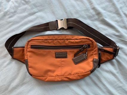 Authentic Coach Men waist pouch