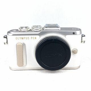 [BMC] Used Olympus PEN Lite E-PL8 MFT White (16MP)