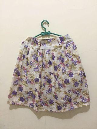 #BAPAU Floral Skirt
