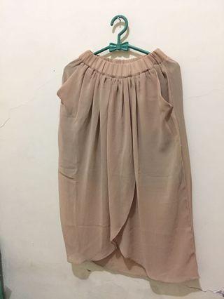 #BAPAU Brown Skirt