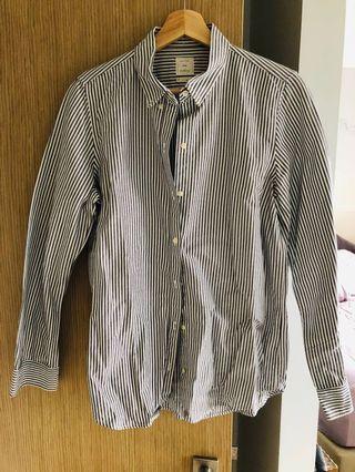 🚚 UK 10 GAP Boyfriend Shirt (Brand New)