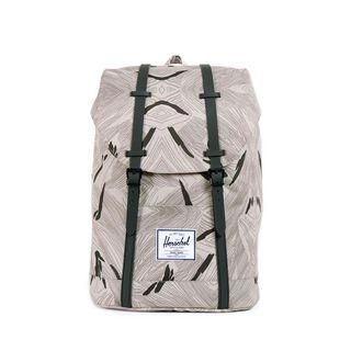 Herschel Retreat Backpack, Geo/ Black Rubber