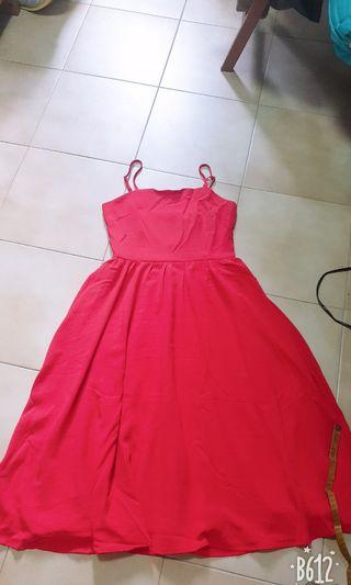 🚚 Brand new Tinselrack red dress