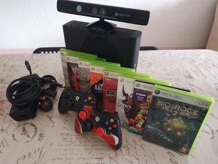 250GB Xbox 360 With Kinect