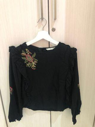 Zara Floral tops