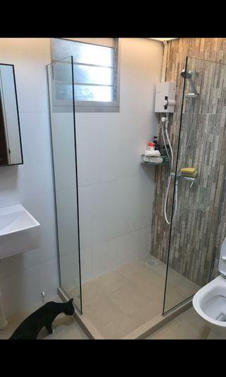 Double fix shower panels