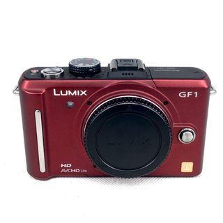 [BMC] Used Panasonic DMC-GF1 M4/3 (12MP) Red