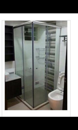 Kallang trivista bto common toilet shower screen