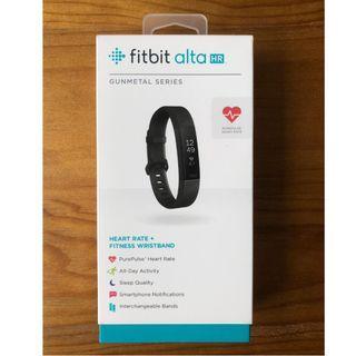 Fitbit Alta HR Black (Special Edition – Black gunmetal).