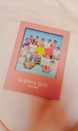 Album Wanna One To Be One pink ver.