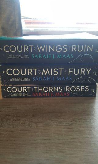 A Court of Thorns and Roses Trilogy