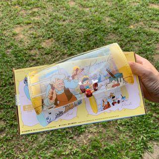 7-11 7仔 Disney 小木偶袋