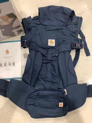 360 omni baby carrier - navy