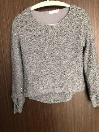 Love bonito shimmery pullover