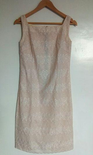 Repriced!!! 300.00 U.S.  Eyelet Dress