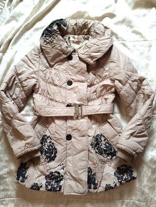 🚚 全新 淡褐色 防風大衣 外套